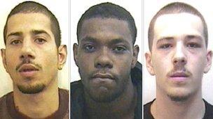 L to R: Lance Francis, Reiss Wilson, Curtis Dejean