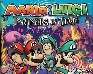 Mario & Luigi: Partners in Time pack shot from 2006
