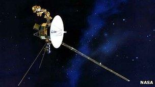 Particles point way for Nasa's Voyager