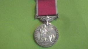 A British Empire Medal