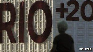 Rio+20 building