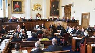 Guernsey States meeting