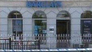 Banc Barclays ym Machynlleth