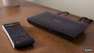 Sony Google TV-enabled set top box