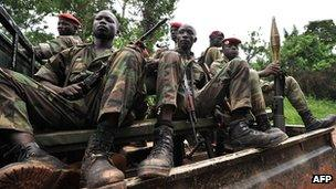 Ivory Coast soldiers