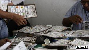 Votes being checked after Mexico's presidential election