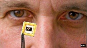 Andre Geim and graphene transistor