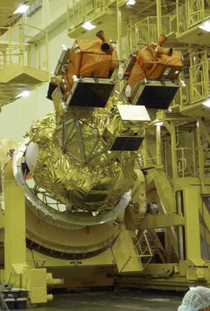 Three satellites