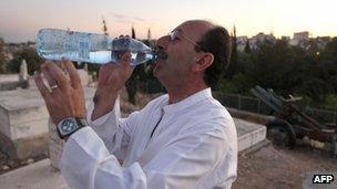 Rajai Sanduqa drinking water