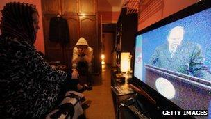 Algerian TV viewers