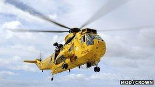 Heileacoptair an RAF