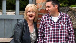 Caryl Parry Jones a Dafydd Du