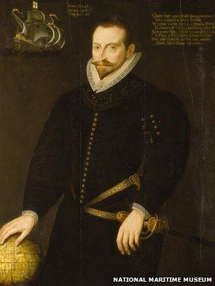 Sir James Lancaster of the East India Company