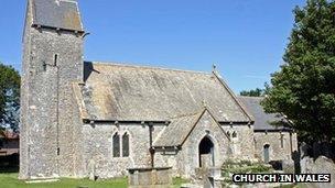 Eglwys St Iago yn Y Wig