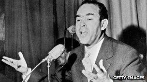 Mehdi ben Barka in 1959