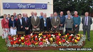 Ahoghill community garden launch
