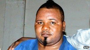 Cedric Mandembo. Photo: July 2012