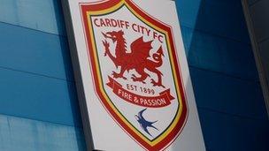 Logo Clwb Pêl-Droed Caerdydd
