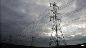 Generic electricity pylon