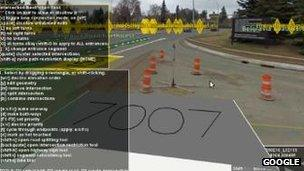 Street View used to fix error on Google Maps