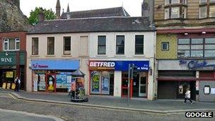 Bookmakers in Paisley