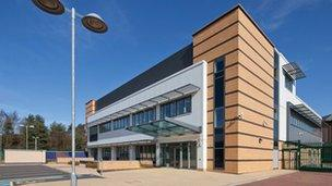 Wolverhampton fire control centre