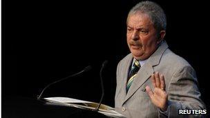 Luiz Inacio Lula da Silva - photo from September 2012