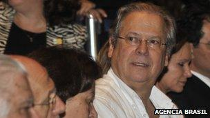 Former Brazilian chief of staff Jose Dirceu