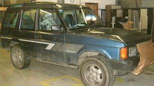 Land Rover Mark Bridger