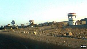 Archive photo of Al Anad military base in southern Yemen