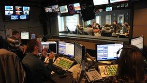 Five Live studio programme
