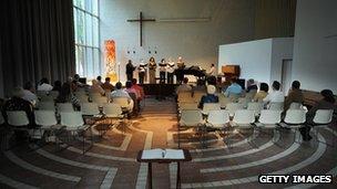 Protestant church, Washington DC, May 2008