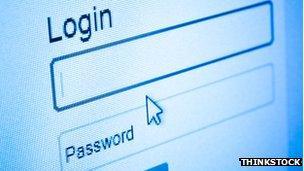Password graphic