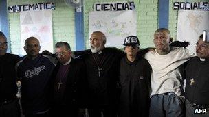 Priests and Salvadorean gang members