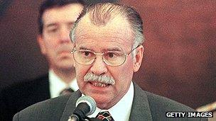 President Raul Cubas