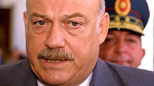 Former president Macchi
