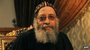 Bishop Tawadros. Photo: October 2012
