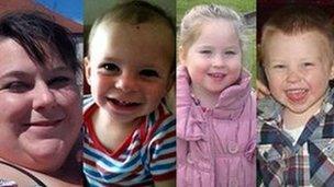 Lee-Anne Shiers, Charlie Timbrell, Skye Allen, Bailey Allen
