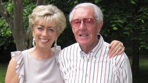 Bob Simmons and his wife Sheryl