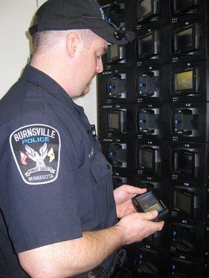 Burnsville police officer