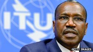 ITU secretary-general Dr Hamadoun Toure