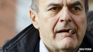 Pier Luigi Bersani, 2 December 2012