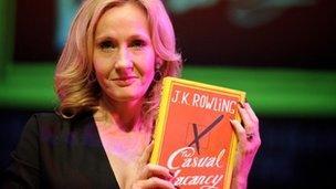 JK Rowling holds new novel