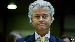 Geert Wilders - file pic