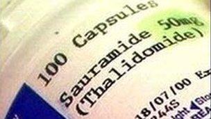 Thalidomide tablets