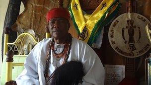 Igwe Anthony Ojukwu, traditional ruler of Ogui Nike in Enugu State