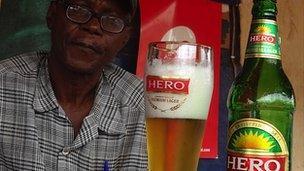 """Beer called """"Hero"""""""