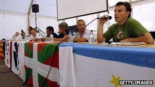 File photo of Jean-Claude Aguerre