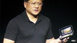 Nvidia chief executive Jen-Hsun Huang