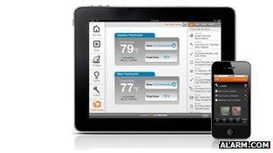 Alarm.com smartphone software